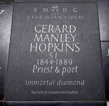 Gerard Manley HOpkins memorial, Westminster Abbey