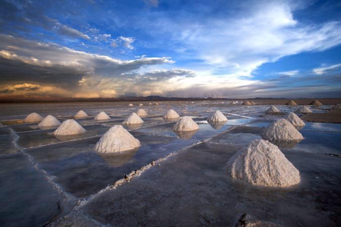 Strange salt