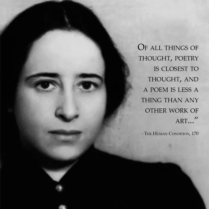 Hannah Arendt and remembering thought